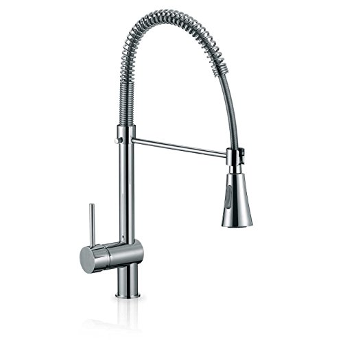 toyofmine single handle pull down kitchen faucet commercial style