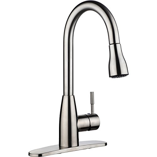 pH7 F04 1-hole or 3-holes Plastic Pull-down Kitchen Sink Faucet with ...
