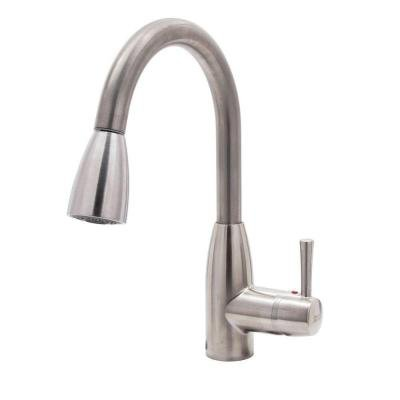 American Standard Fairbury Single-Handle Pull-Down Sprayer Kitchen Faucet in Stainless Steel