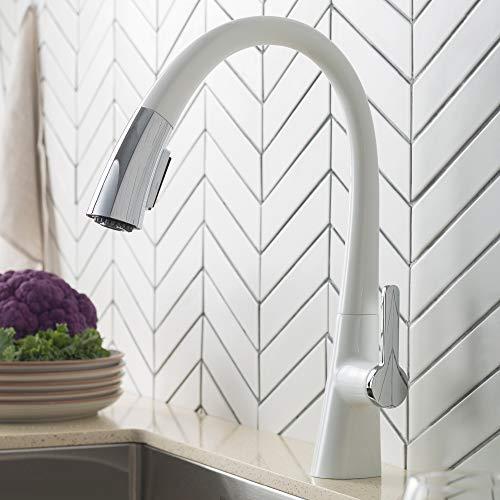 Kraus Nolen Dual Function Pull Down Kitchen Faucet Chrome